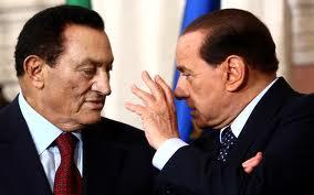 Mubarak e Berlusconi