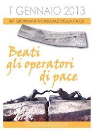 pace messaggio 2013